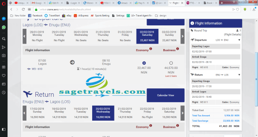 How To Book Arik Air Flight With Ease in Less than 5 Minutes