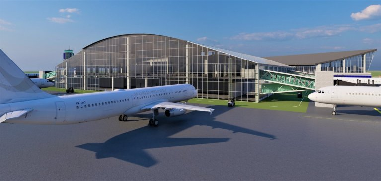 Prototype Of The Ongoing Ebonyi International Airport