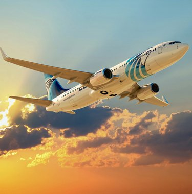 Egypt Air Offers 50% Flight Discount & One Free Baggage
