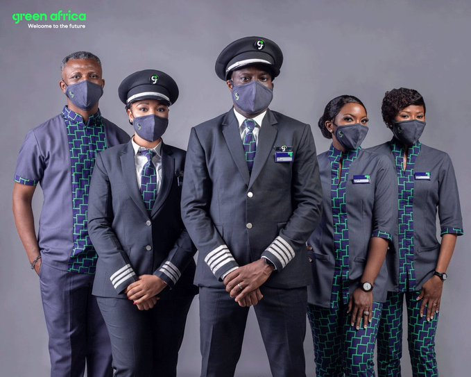 Green Africa Airways Unveils Cabin Crew and Pilots Uniform