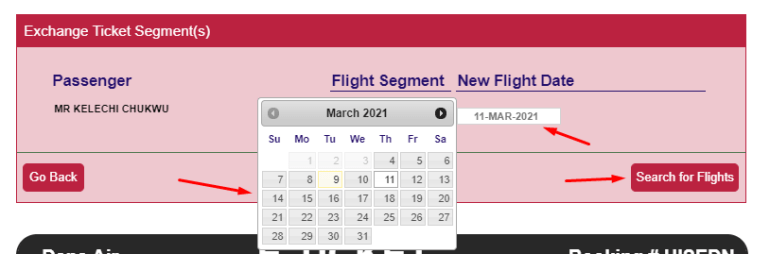 How to Change Dana Air Flight Date, Route & Time For Free