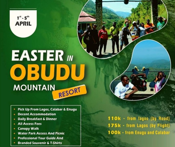 Tour Nigeria Package: Easter In Obudu Mountain Resort