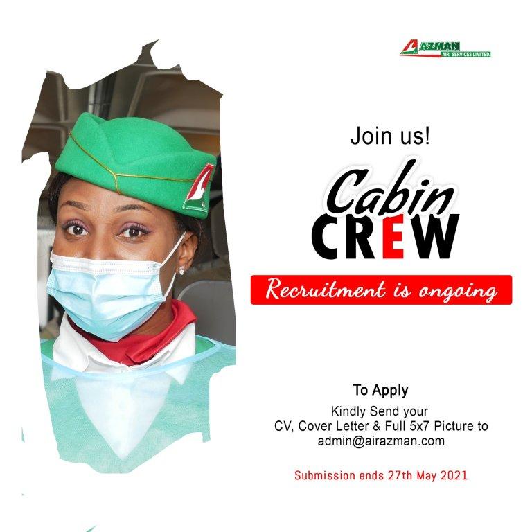 Azman Air Cabin Crew Recruitment