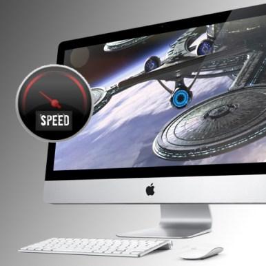 test velocità nuovo iMac con Intel core i5