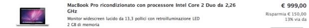 MacBook Pro 13 in offerta