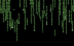 XMatrix, simula l'effetto famoso del film Matrix