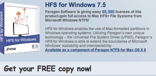 leggere i dischi mac su windows