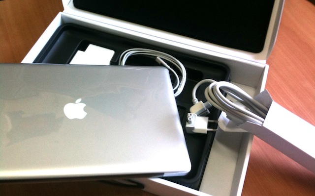 nuovo macbook pro 15 confezione