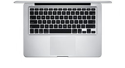 tastiera e trackpad nuovi macbook pro