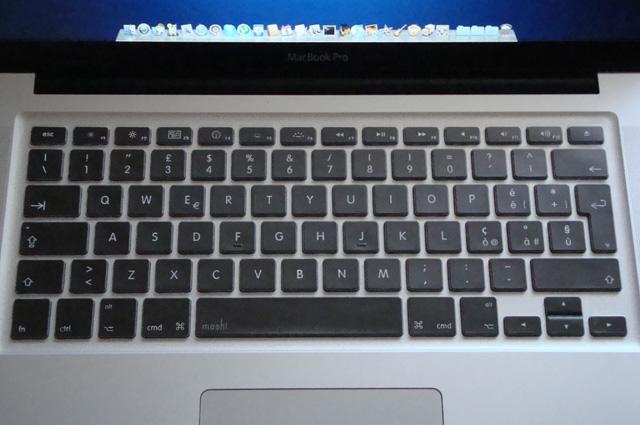 protezione per tastiera macbook pro