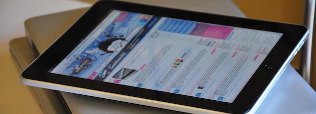 leggere con l'iPad