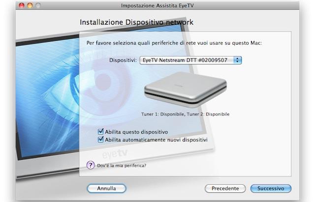 elgato netstream dtt configurazione