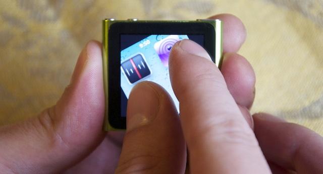 ipod nano multitouch