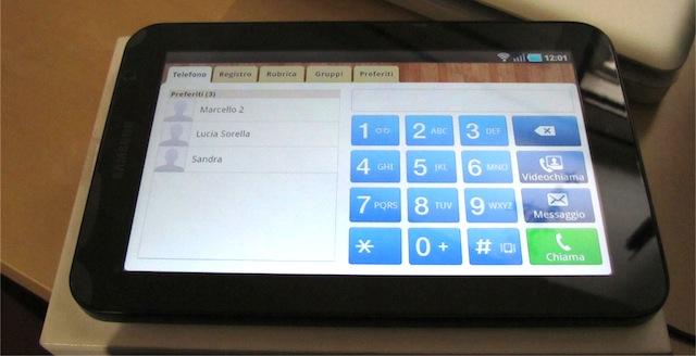 galaxy tab e telefono