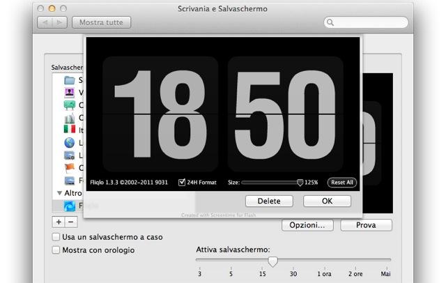 fliqlo-screensaver