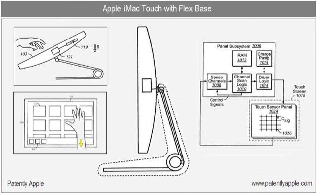 Apple iMac touch mostrato in un video concept