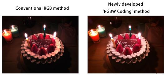 RGBW Sony