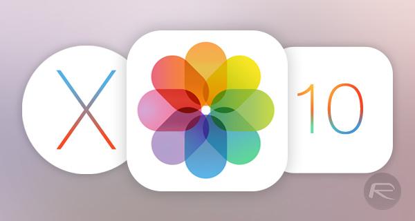 iOS 10 OS X Foto
