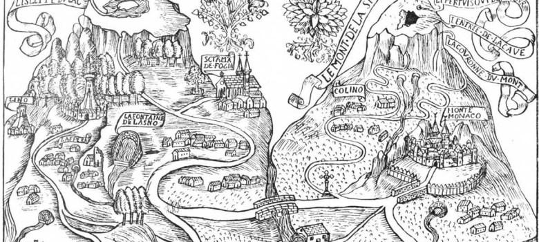 Monte Sibilla illustrazione di Antoine de la Sale