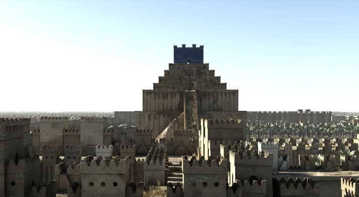 torre di babele ziqqurat