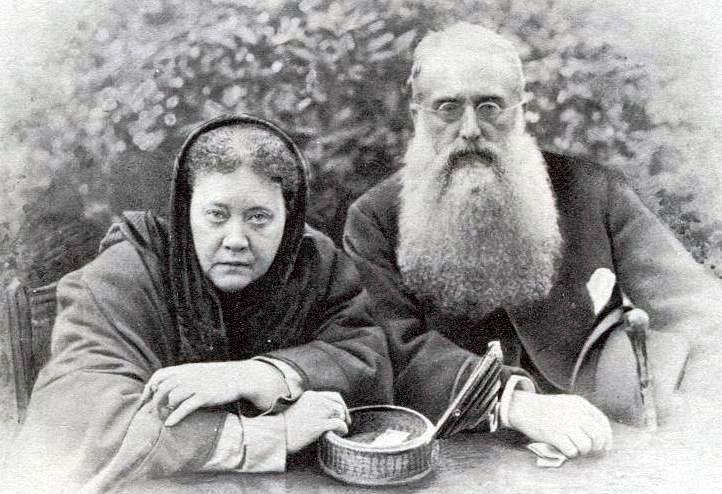 H. P. Blavatsky e Henry S. Olcott