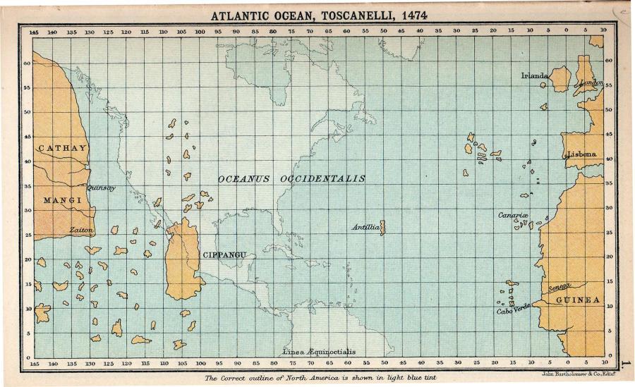Toscanelli Antilia
