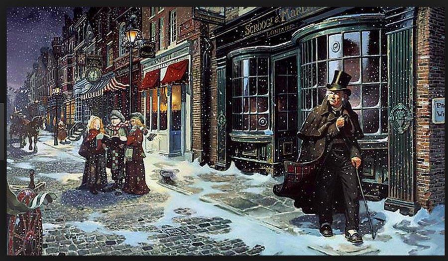 Christmas carol Dickens