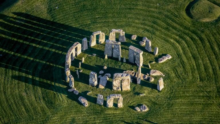 Stonehenge pietre Galles