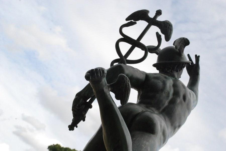 Hermes caduceo