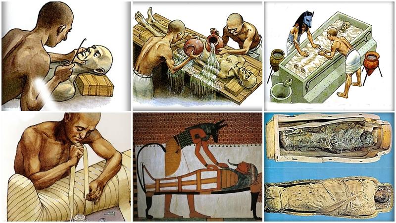 pratica della mummificazione