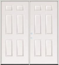 Double Prehung Exterior Doors - Photos Wall and Door ...