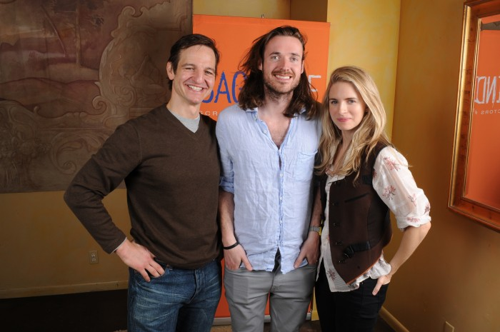 Mapother, Cahill, and Marling at Sundance 2011.