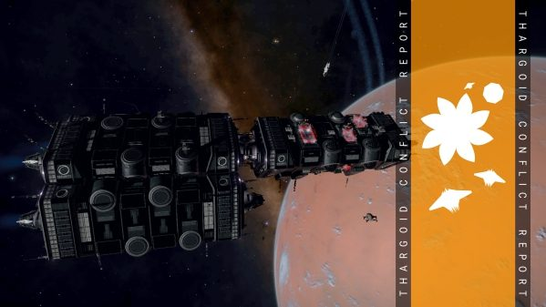 Aegis Support Carriers on Station in HIP 21559 and Irandan