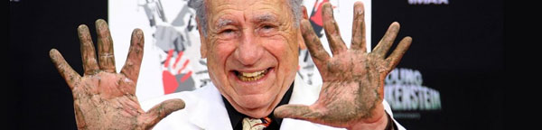 Mel Brooks sulla Walk of Fame