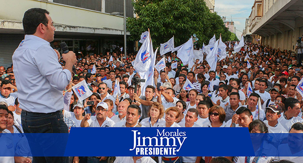 jimmy morales presidente