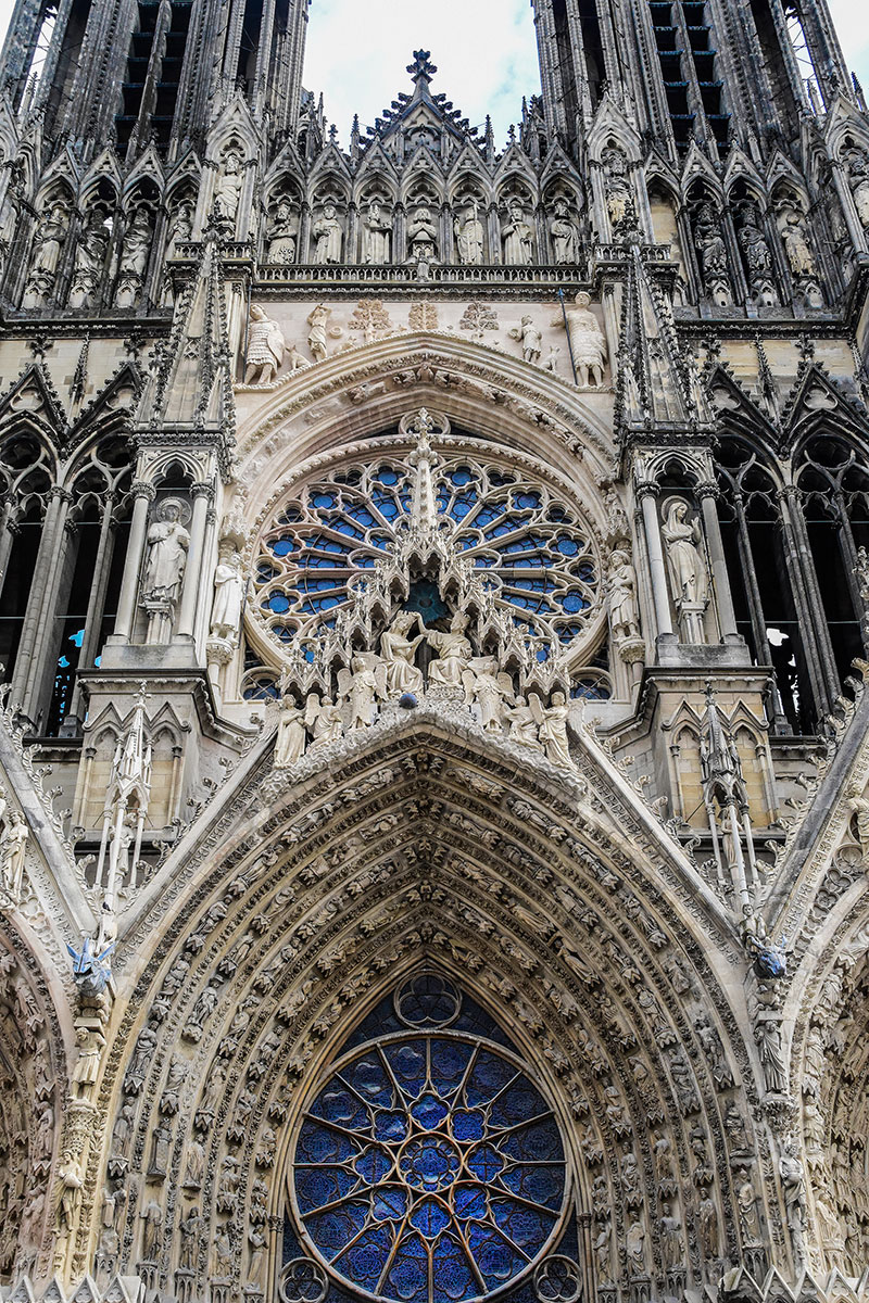 Notre Dame Cathedral Rose Window Gothic