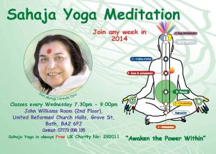 Free Sahaja Yoga Meditation in Bath