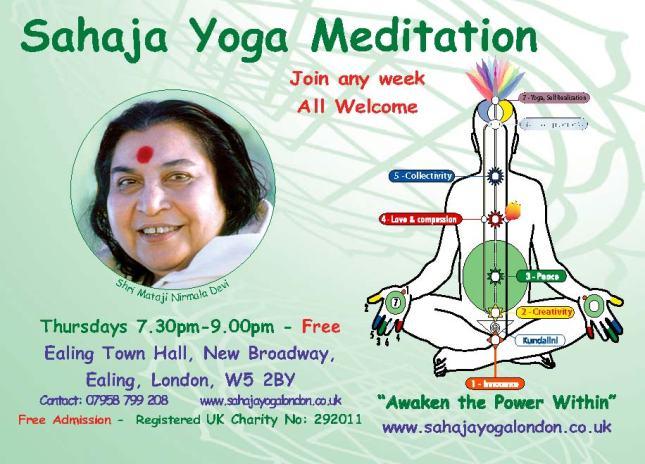 Free Meditation London - Ealing, west London