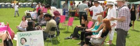 Sahaja Yoga at Strawberry Fair, Cambridge - Sat June 2nd 2012