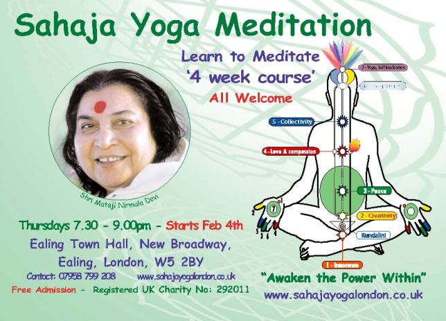 Free Meditation Course - Feb 4th 2014