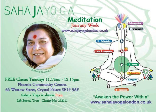 Crystal Palace Meditation Session