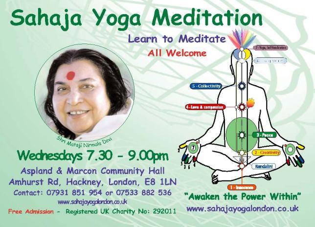 Free Meditation & Yoga Hackney