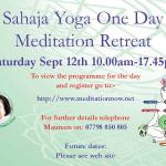 Meditation Retreat – September 12th