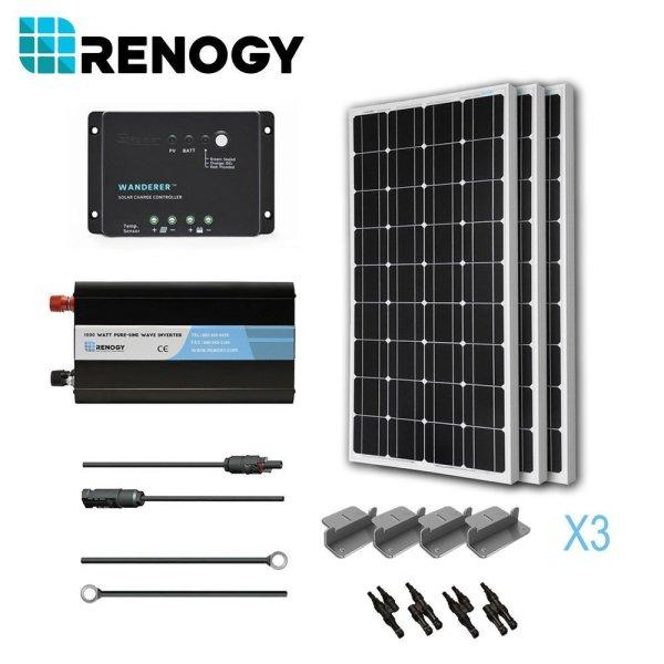 Renogy 300 watt monocrystalline