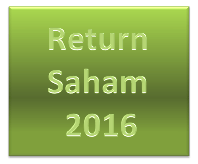 Return Saham 2016