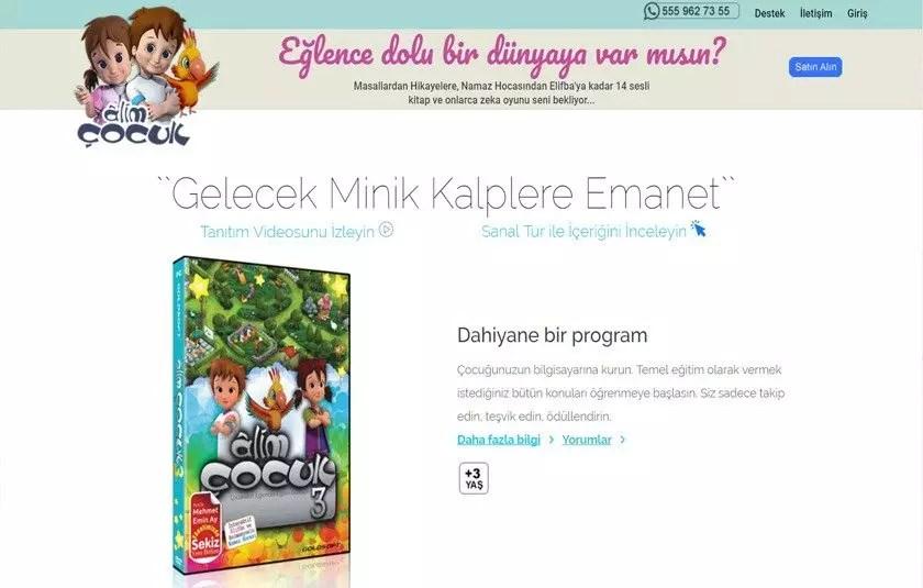Alim Çocuk – www.alimcocuk.com.tr