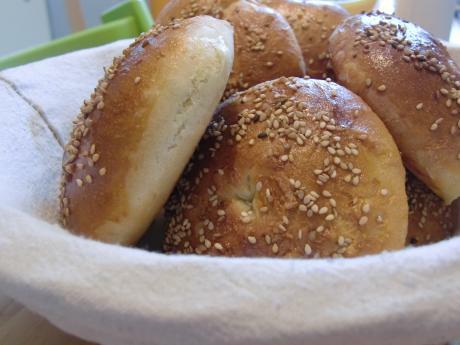 Sesam-Bagels