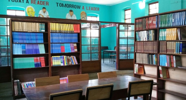 Library at Pugu Secondary School, Tanzania upgraded by Sahara Foundation