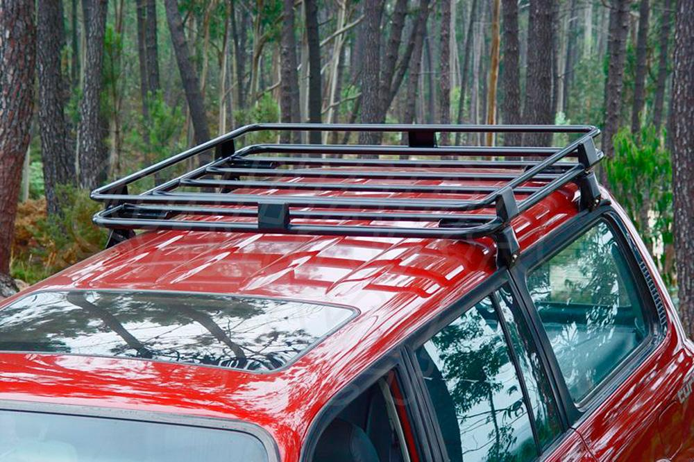 afn roof rack with legs for rain gutter