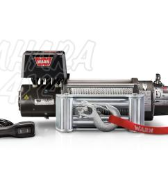 warn winch m8000 24v 3600 kg compact tough and reliable [ 1500 x 1000 Pixel ]